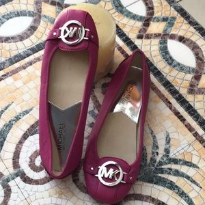 Michael Kors Fulton Moccasin Flats. Pre- Owned